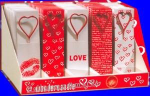Herz-Wunderkerzen, Herzen Wunderkerzen für Hochzeit, Geburtstag, Love, Party