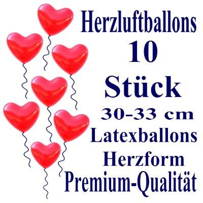 Herzluftballons-Premium-Rot-10-Stück