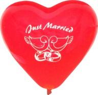 Herzballons Hochzeit, Luftballons Hochzeit,