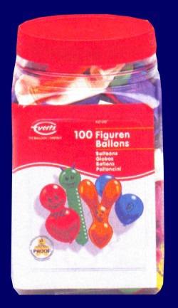 Luftballons Figuren Sortiert