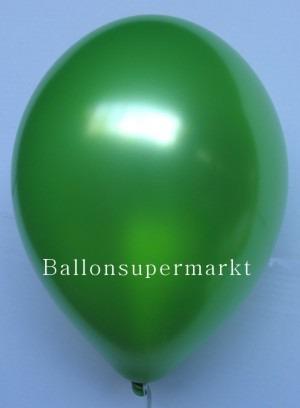 Luftballons Metallic Gruen