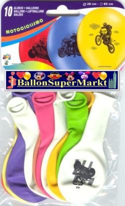 Motiv-Luftballons-Motorraeder