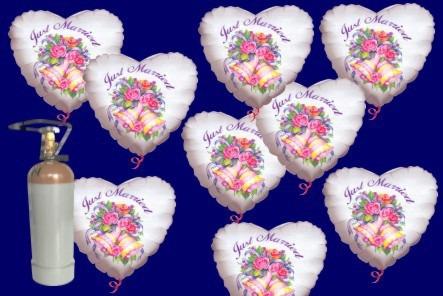 Luftballons-Hochzeit-Helium-Just-Married