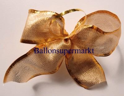 Deko-Zierband-Schmuckband-Versailles-Gold-Zierschleife