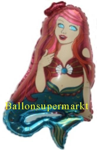 Meerjungfrau Luftballon Arielle