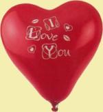 Herzballon Liebe