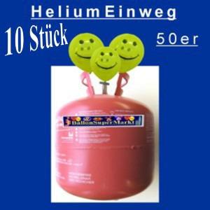 Helium-Einweg-50er-10 Stück