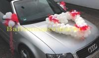 Hochzeit-Auto-Dekoration