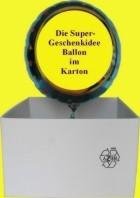 Singende Luftballons zum Kindergeburtstag. Die Geschenkidee