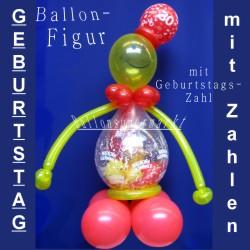 Luftballons mit Geschenken, Geschenkballons als Ballonfigur