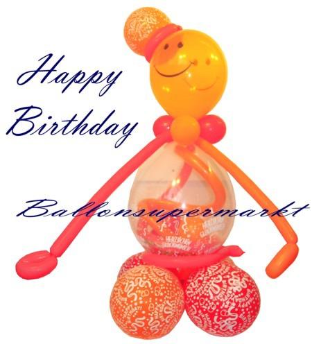 Geburtstagsdekoration-aus-Luftballons-Grosses-Geburtstagsmaennchen