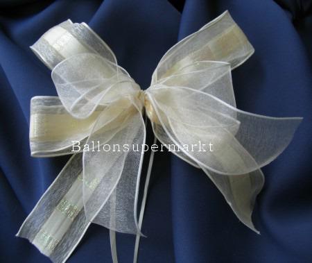 Zierschleife Hochzeit, Dekoration, Tischdekoration Hochzeit mit Hochzeitsschleifen, 10