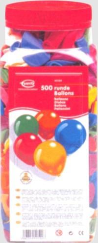 Luftballons Rundballons