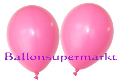 Luftballons Standard Rundballons Oval Pink