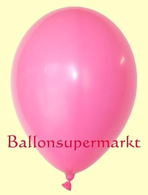 Luftballons Rundballons Oval Pink
