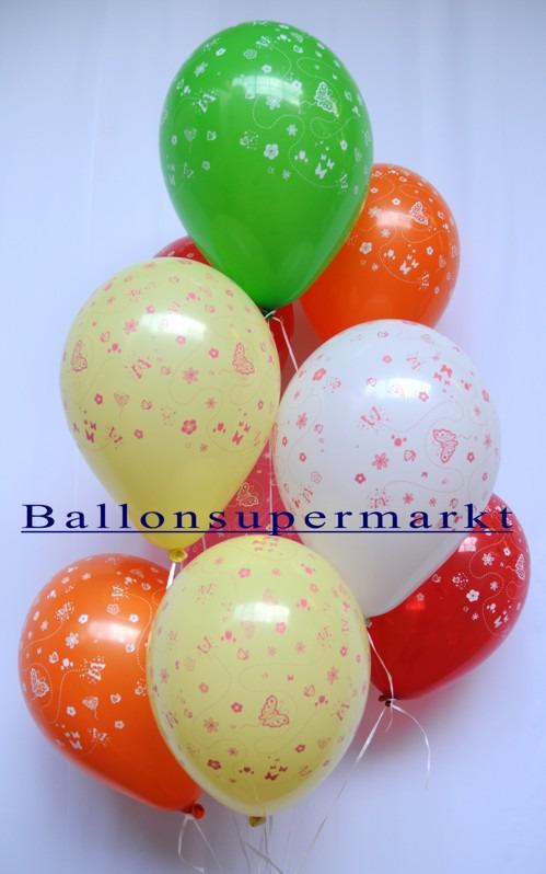 Schmetterlinge-Luftballons-Ballonsupermarkt