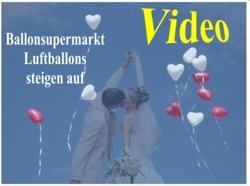 Video: Ballonsupermarkt Herzluftballons steigen auf