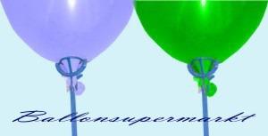 Ballonstäbe, Luftballonstäbe, Halter für Luftballons