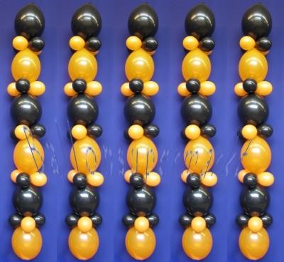 Luftballons-Halloween-Ballondekoration