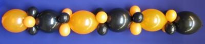 Luftballongirlande Halloween