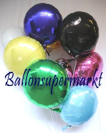 Luftballons-Folie-Rund