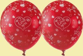Luftballons Love