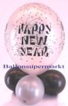 Tischdeko-Luftballon-Happy-New-Year-Silber