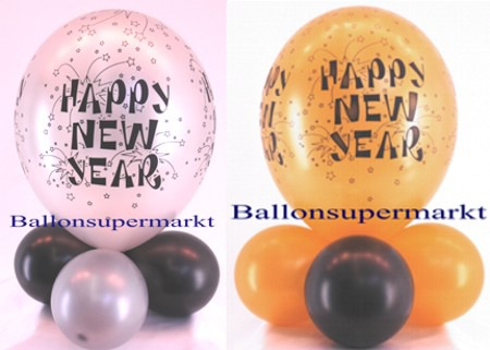 Tischdeko-Luftballons.Happy-New-Year