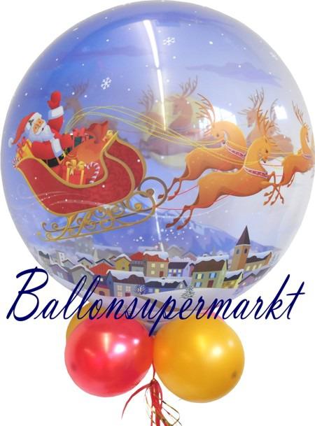 Bubble-Weihnachts-Luftballon-mit-Helium