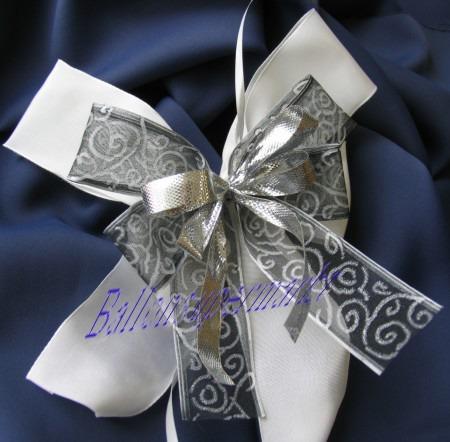 Zierschleife Hochzeit, Dekoration, Tischdekoration Hochzeit mit Hochzeitsschleifen, 11