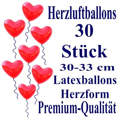 Herzluftballons-Premium-Rot-30-Stück