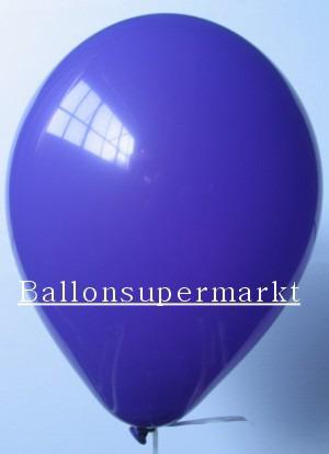 Luftballons Rundballons Oval Lila