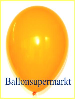 Luftballons Rundballons Oval Mandarin