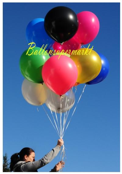 Luftballons 48 cm Ballontraube, Partydekoration, Festdekoration