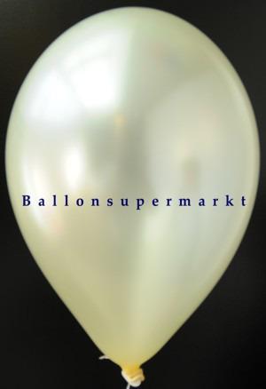 Luftballon-Elfenbein-Metallicfarbe
