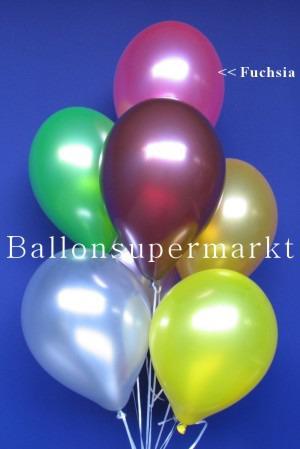 Luftballons Metallic Fuchsia