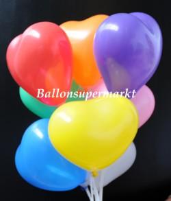 Herzluftballons-12-14-cm-bunte-Farben