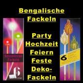 Bengalische Fackeln, Party, Hochzeit, Festdeko, Partydeko, Partybeleuchtung, Partylichter,