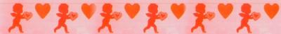 Dekoration mit Herzen, Hochzeit, Liebe, Valentinstag
