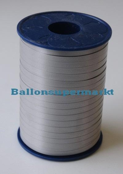 Ballonband-Rolle-Silber