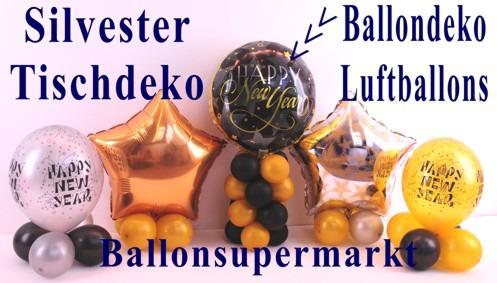 Ballondeko-Tischdekoration-Ballons