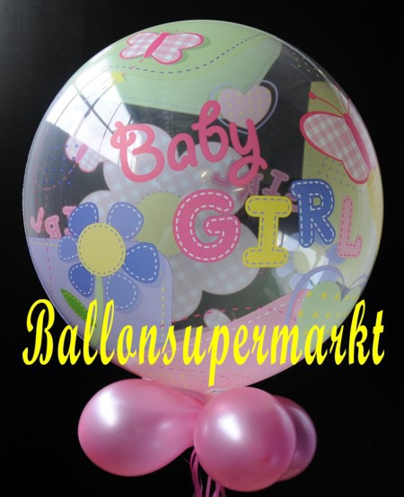 Geburt-Baby-Girl-Bubble-Luftballon-3
