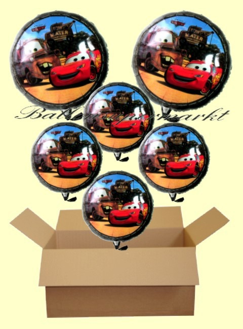 Geschenkidee-Kindergeburtstag-Cars-Luftballons-mit-Helium