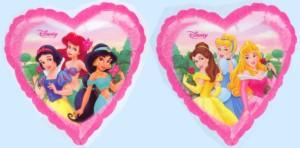 Princess Folienballons Kindergeburtstag Mädchen