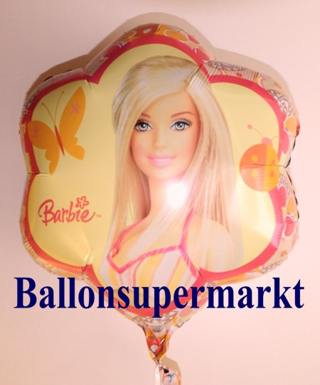 Luftballon-Barbie-mit-Schmetterling-Luftballon-aus-Folie