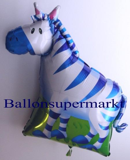 Lustiges-Bergzebra-Luftballon-aus-Folie