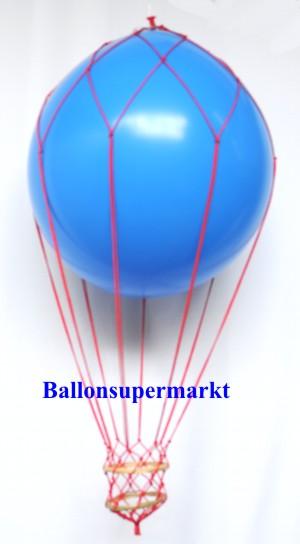 Fesselballon-Blau