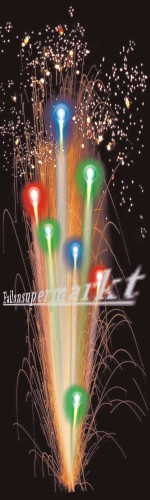 Lichterorgel Roma, Effekte Feuerwerk