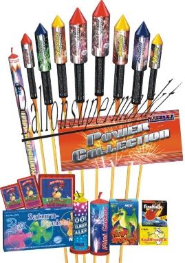 Feuerwerk Silvester, Silvester-Raketen