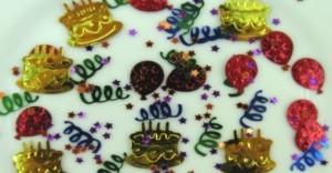 Tischdeko-Konfetti-Geburtstag-Cake
